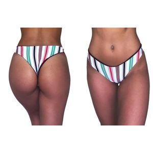 CUSTOM Seamless Reversible Cheeky Bikini Bottoms